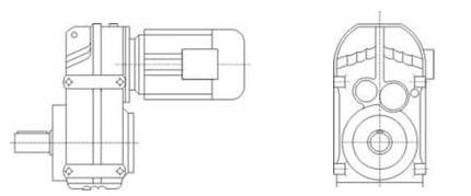 Версии мотор-редукторов - 1