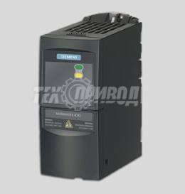 Однофазный частотный преобразователь SIEMENS Micromaster 420